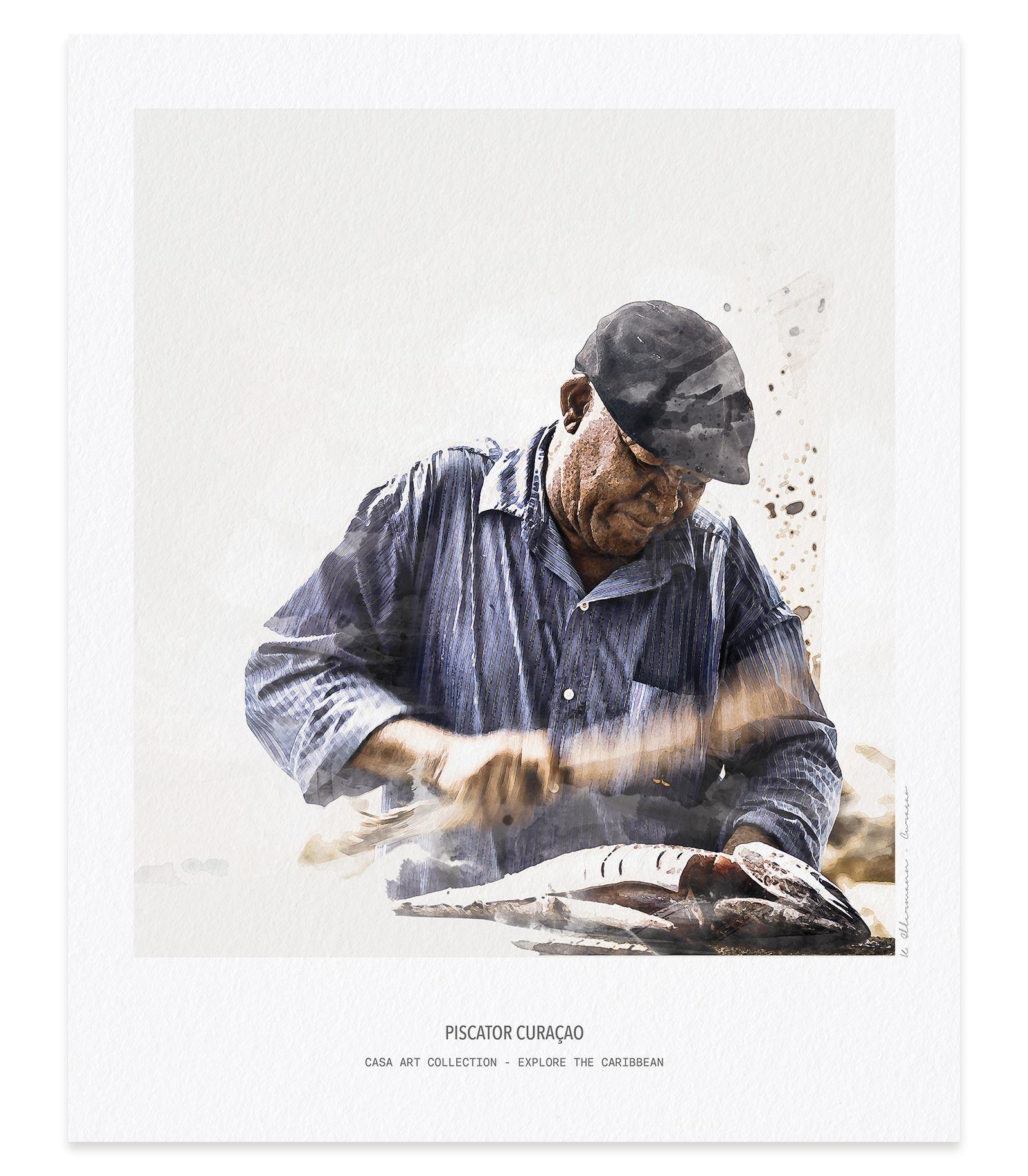 Piscator Aquarelle Fine Art printing