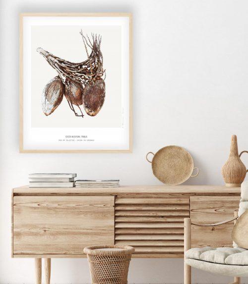 Caribbean art - Fine Art Printing - Caribbean Stone Fruit collection - Kunst aan de muur