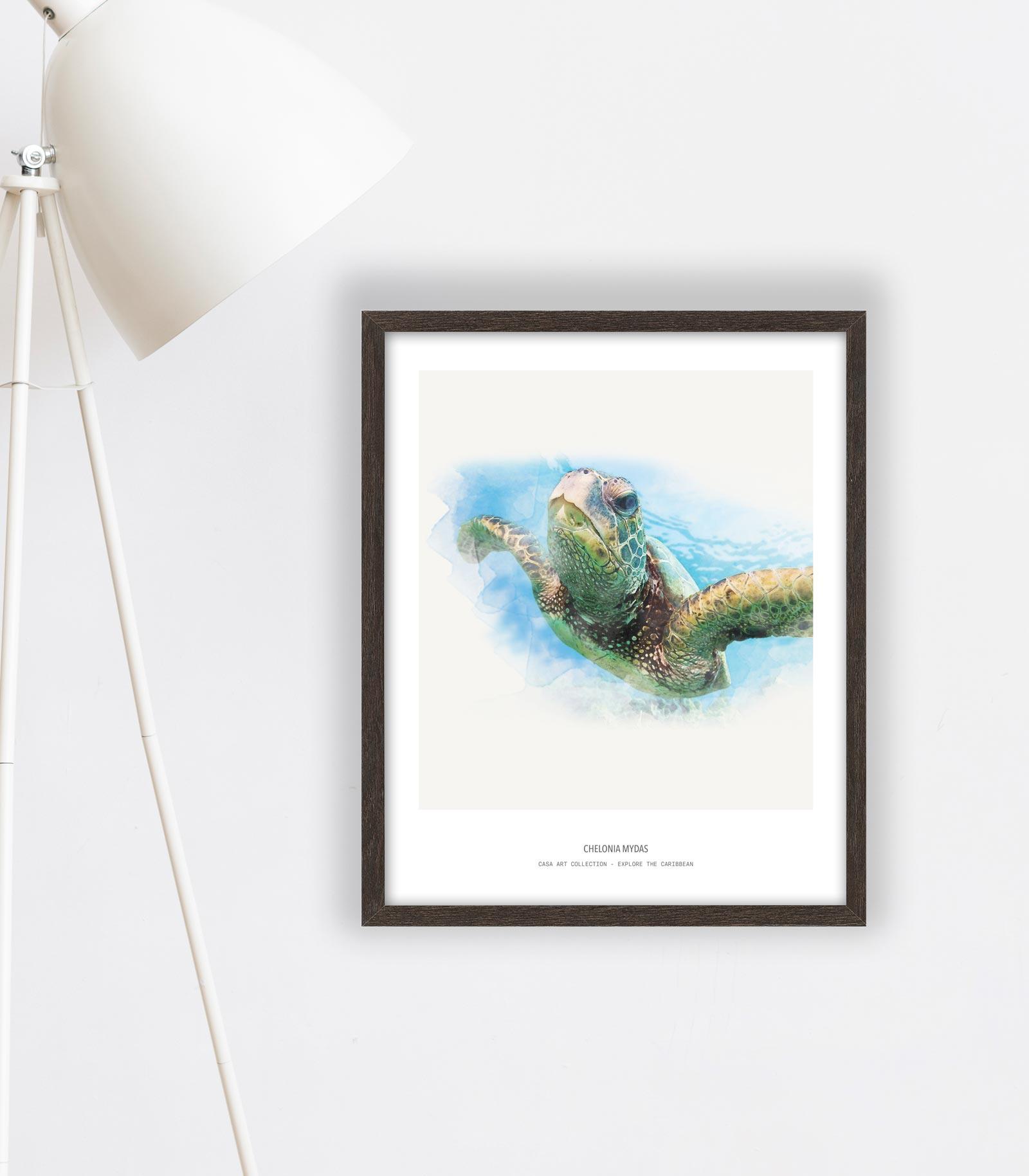 Caribbean art - Fine Art Printing - Explore the Caribbean - Kunst aan de muur